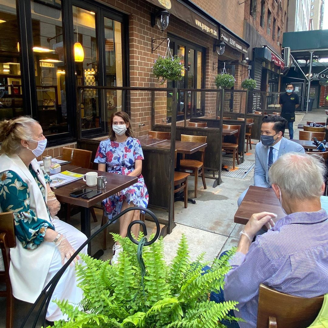 Your Outdoor Dining Options In Lower Manhattan