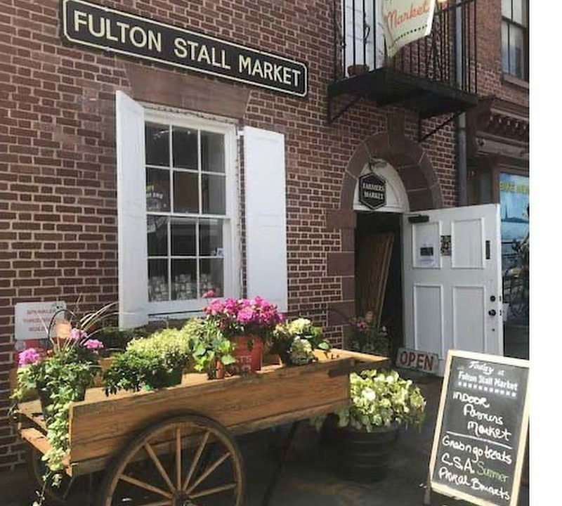 Fulton Stall Market Connects The Seaport's Past To Its Healthy Future